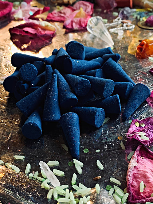 Marie Laveau Incense Cones -Love Drawing, Hex Breaking, Brings Wealth and Luck