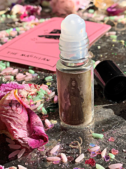 Practical Magic- Roll-on Perfume-  Prepared & Steeped For A Full Alchemy Month