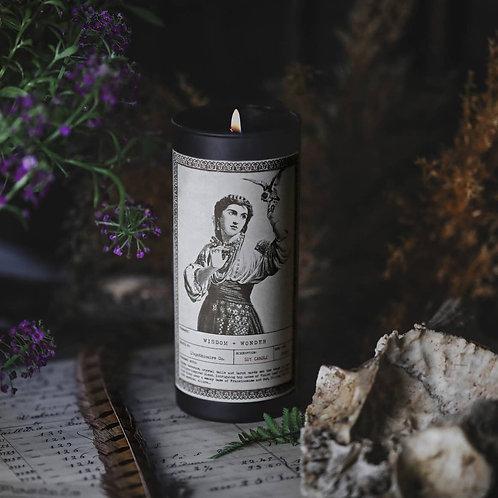 NOIR | Wisdom + Wonder | Ritual Candle | 9oz