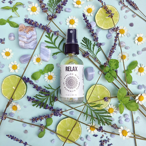 Relax Healing Mist- Relieves Symptoms of Stress and Anxiety