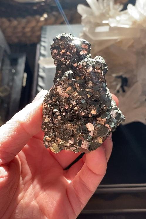 Pyrite Cluster - Stone for Wealth Activation & Manifestation