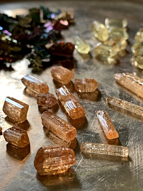 Golden Topaz Crystal- Success & Mastery, Ascended Masters, and Archangels
