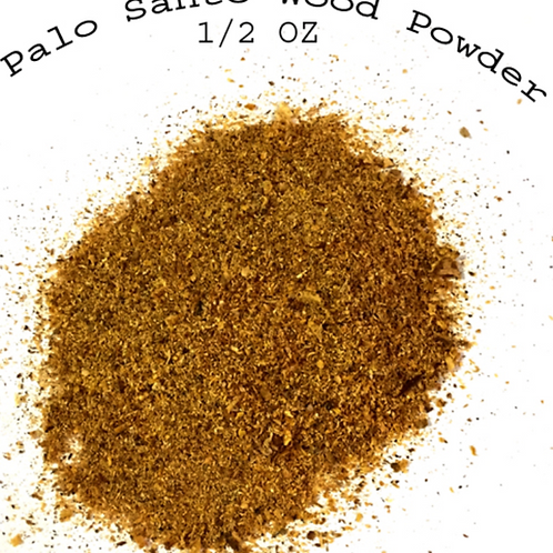 Palo Santo Wood Powder- Resin Incense- 1/2 oz