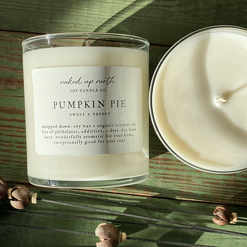 Sweet + Savory Pumpkin Candle- Harvesting Abundance