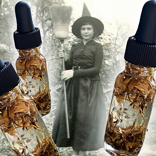 Witch Grass Oil-  Passions, Power, Success, Spell Speed & Strength