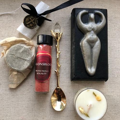 Fertility Priestess Ceremony Ritual Box