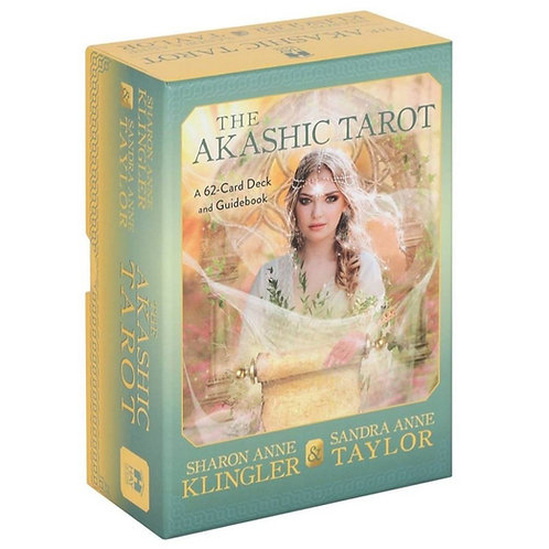 The Akashic Tarot: A 62-Card Deck and Guidebook (Cards) + FREE GIFT