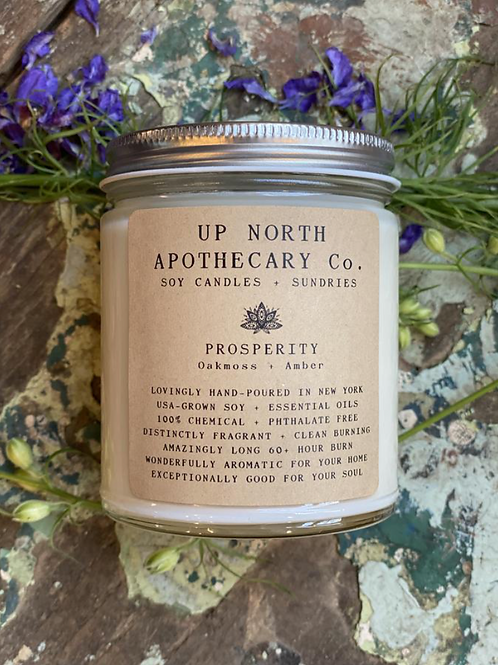 Prosperity Candle- Wealth, Wisdom, Prosperity, Material and Spiritual