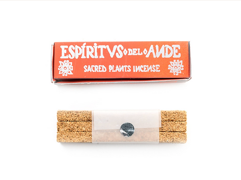 Espiritus del Ande Incense: Palo Santo, Wiraqoya and Myrrh Sticks