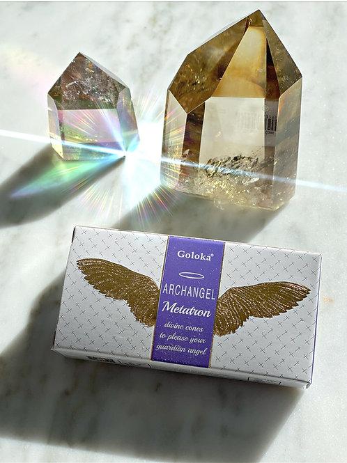 Archangel Metatron Incense Cones - Metatron Will Help you Raise Your Vibration