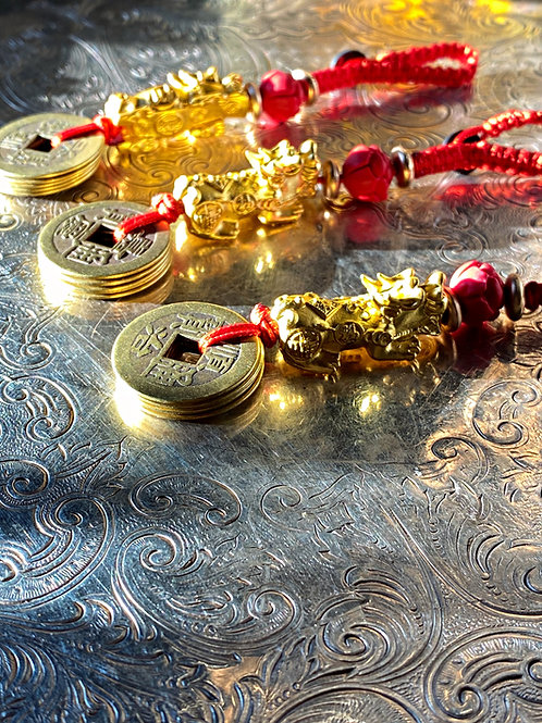 Pi Xiu  Talisman- Good Fortune, Happiness, Reaching Destiny, Riches