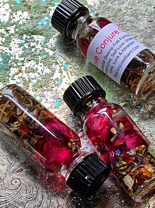Love Conjure Oil-  Love Drawing, Passion, long-lasting love, Soulmates