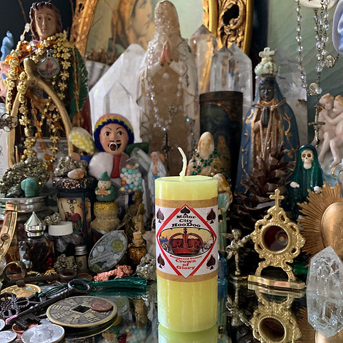 Crown Of Glory Hoodoo Candle- Ensures Your Success in Endeavors