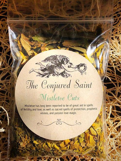 Mistletoe Cuts-(Phoradendron Flavescens), Passion, Love Magic, Fertility, Love