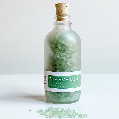 The Emerald Vitality Crystal Bath Soak
