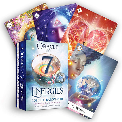 Oracle of the 7 Energies A 49-Card Deck and Guidebook + FREE GIFT