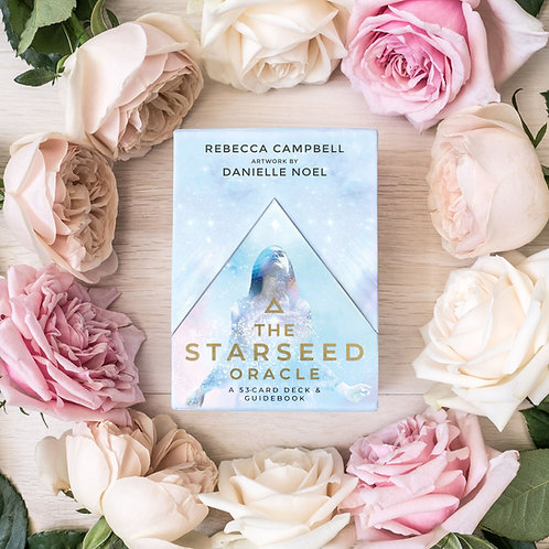 The Starseed Oracle A 53-Card Deck and Guidebook + FREE GIFT