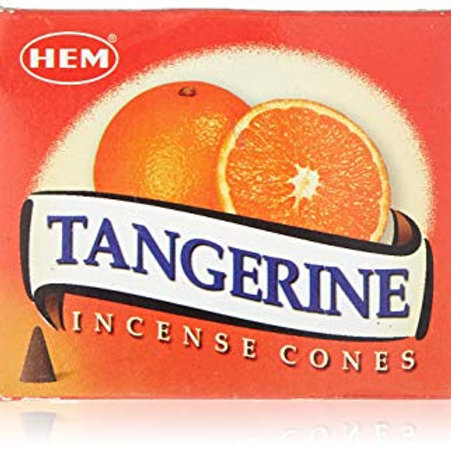 Tangerine Incense- Promotes strength, vitality, energy.