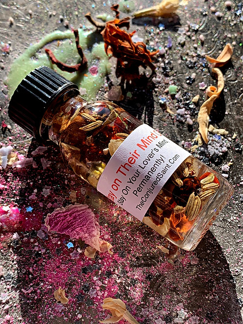 Stay on their mind Oil -Love Haunt Oil-Stay On Your Lover's Mind, Permanently!