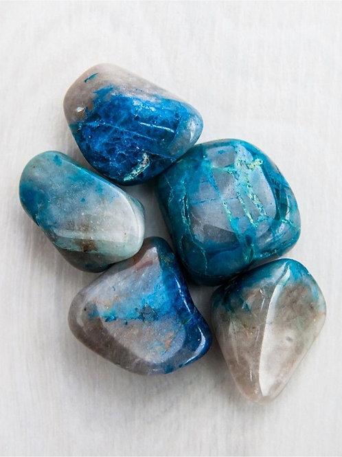 Quantum Quattro Tumbled Gem Stone- Health, Wealth, Abundance, Love
