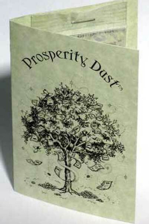 Prosperity Magic Dust (1/4 oz)  Money Tree Dust, Money Manifestation Magic