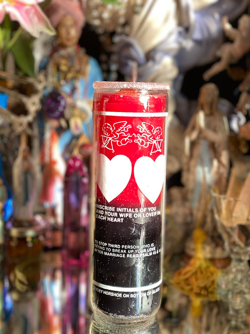 Love Uncrossing  Ritual Candle- Multi-faceted Effects. Drawing & Releasing Love