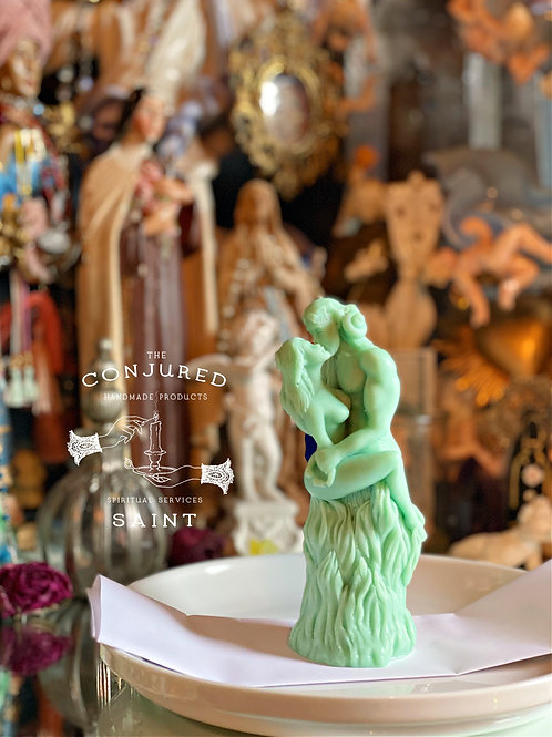 Cernunnos & Beltane Ritual Image Candles-  Beltane, Wealth, Favors, Growth