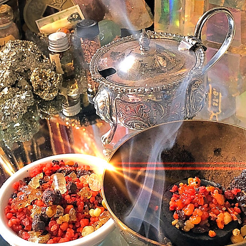 Temple of Solomon Resin Incense - Hand Blended1/2 oz.-Gain power, wisdom...