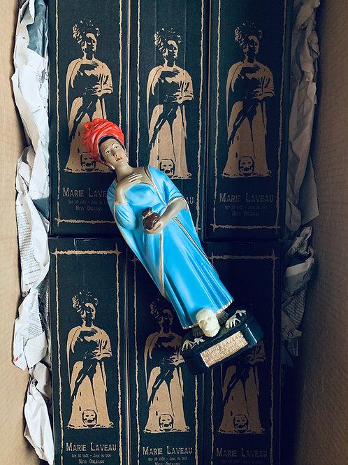 Marie Laveau XL Statue, Oil & Candle Set-up- Love, Money, Protection!