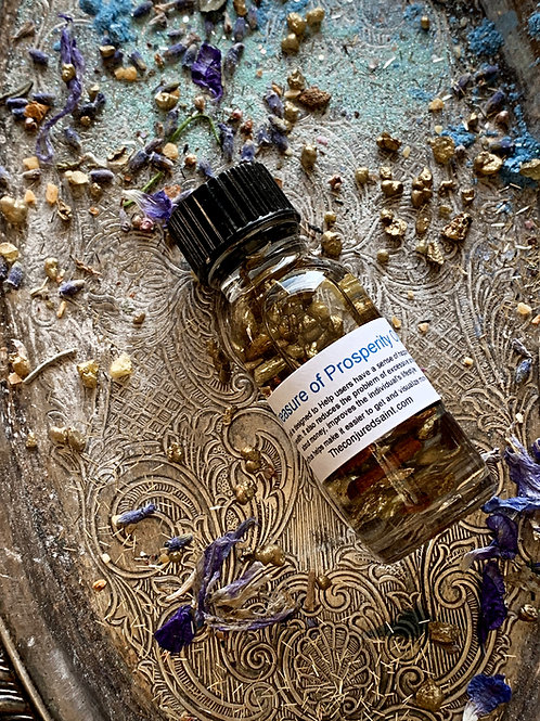 Treasure of Prosperity Oil- Reduces Excessive Anxiety About Money Improves Life