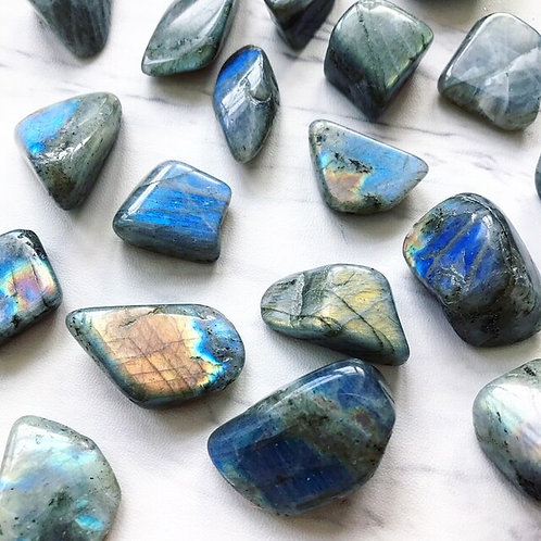 Labradorite Gem Stone- Release Fears, highly protective, Trust Inner Magic
