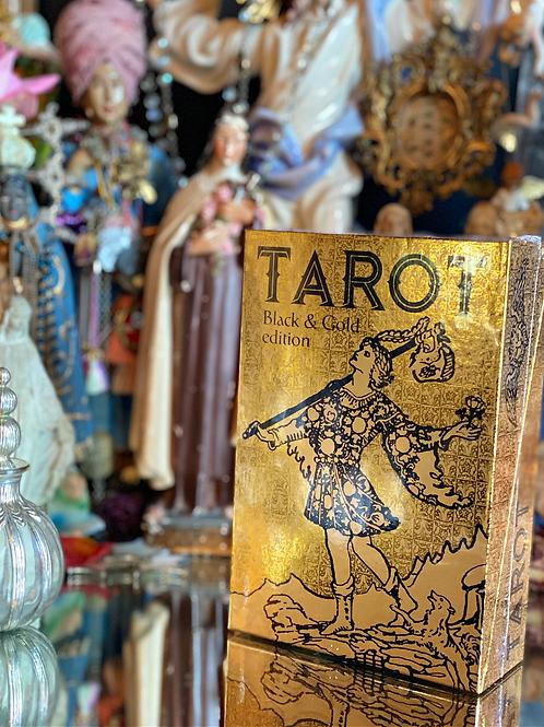 TAROT: BLACK AND GOLD EDITION - GOLD FOIL DECK RARE