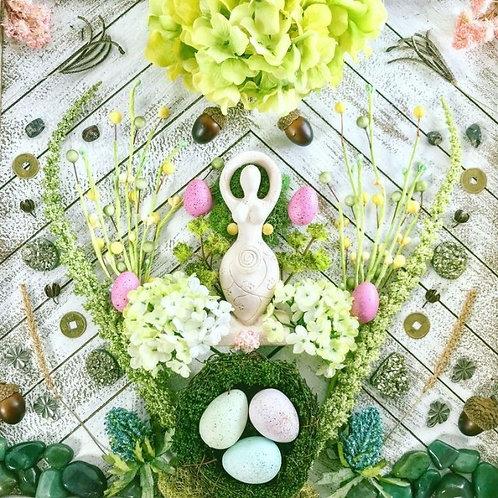 Ostara Moon Magick Ritual Service -March 20- Abundance,Love, Fertility, Faerie