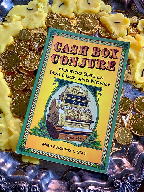 Cash Box Conjure Book + FREE GIFT  Hoodoo Spells For Luck And Money