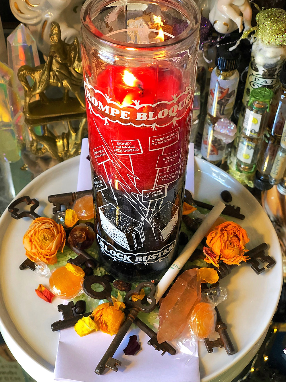 BlockBuster 7 Day Vigil Candle Service- Blast Away Blockages |  theconjuredsaint