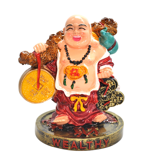 Big Big Money Buddha Statue - Good Fortune and Great Abundance