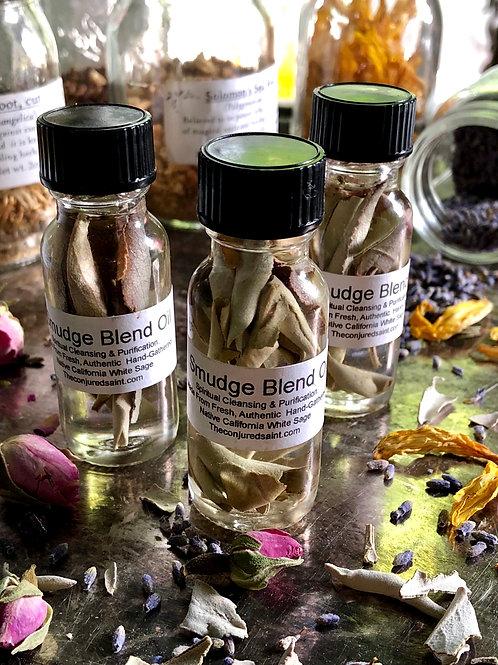 Smudge Blend Oil- Hoodoo, juju, hoodoo, pagan, conjure,