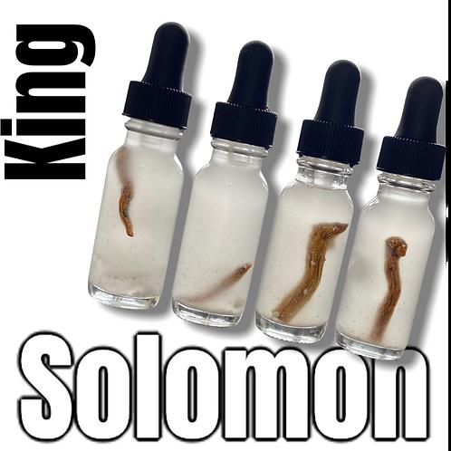 King Solomon Oil- For Gaining Wisdom & Wealth