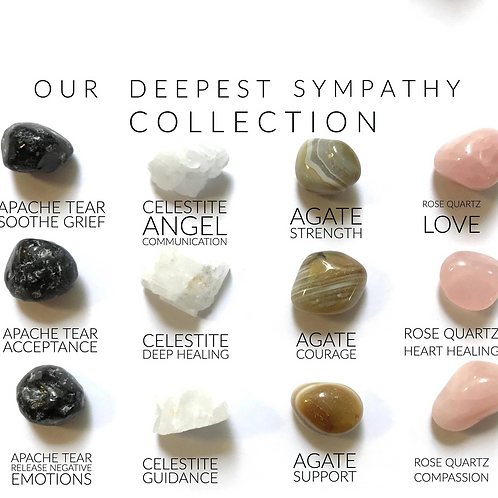 "Our Deepest Sympathy - Crystal Box - The perfect ""Sympathy card/gift"""