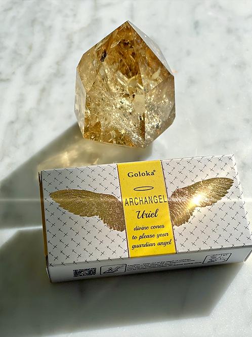 Archangel Uriel Incense Cones- Invoke the Angel of Wisdom, Illumination
