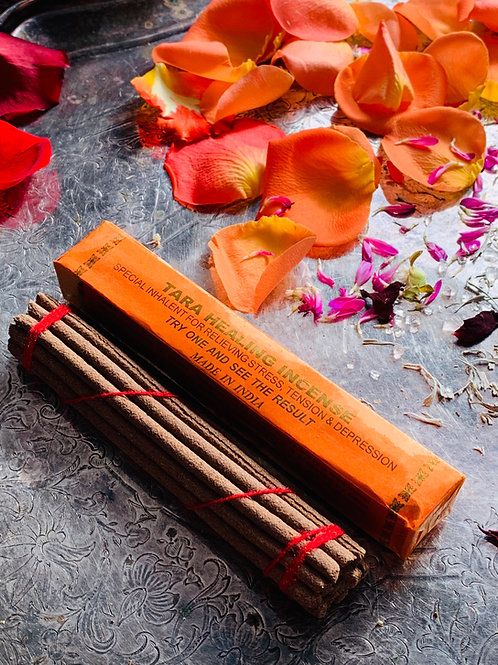 Tara Healing Tibetan Incense Sticks- Designed to Help in Healing Your Mind Body