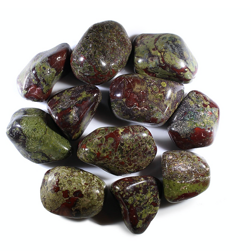 """Dragon Blood Jasper- """"Stone of Courage""""  Strength, and Vitality"""