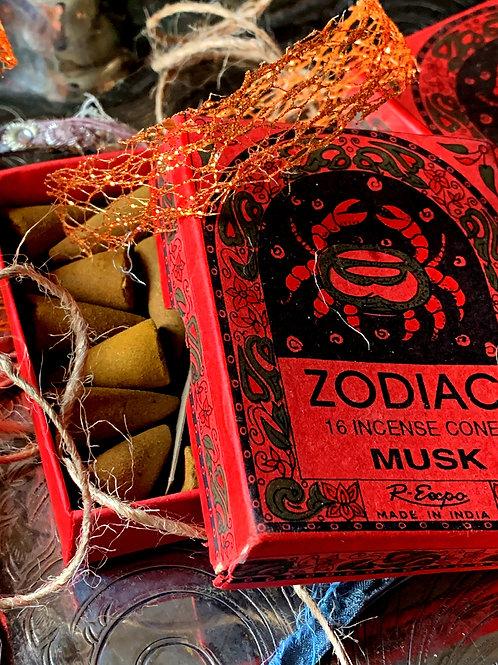 Cancer Zodiac Incense Cones