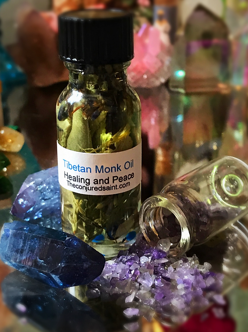 Tibetan Monk Oil- Healing and Peace