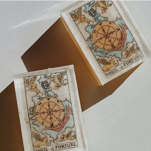 Wheel of Fortune Soap- Destiny, Luck, Wealth, Opportunity, Winning!