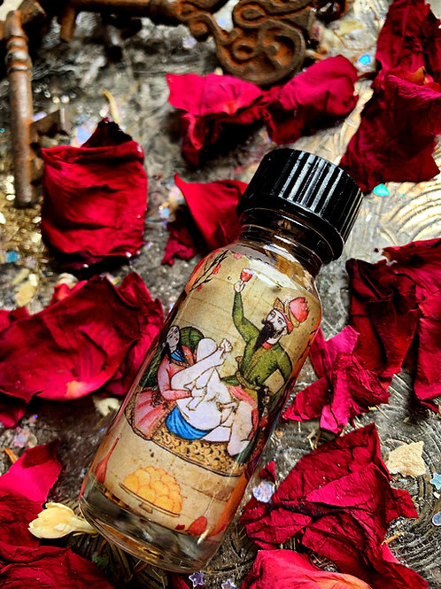 Erotic Oil- Get Results in Love, Passion, Sex, Relationships & Marriages