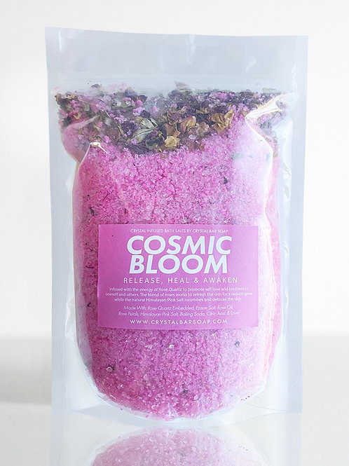 COSMIC BLOOM BATH SALT- RELEASE, HEAL & AWAKEN