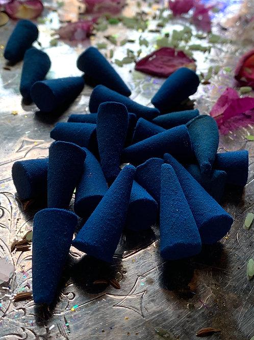 FREY Ritual Incense Cones- Rune Magic, Fertility, Abundance, Unbinding