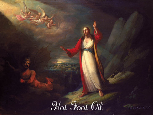 Hot Foot Oil- To Banish Abusers and Users, Annoying People, Foot Traffic Magick