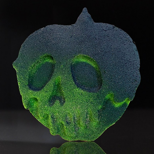 TOXIC CRAVING- Bath Bomb- Hidden Inside is the CrystalOlive Opal